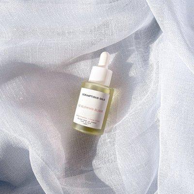 Scrumptious oils Le Glowing Elixir pour le visage