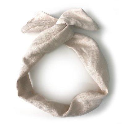Gibou Bandeau à torsader en lin (Autres couleurs dispos)