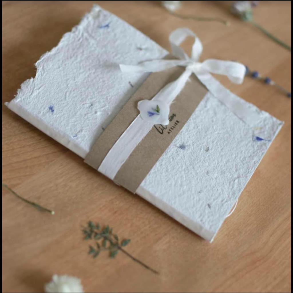 Lilimoon Atelier Carnet blanc