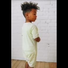 Little Yogi Romper short - Lime