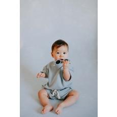 Little Yogi Short retro - Baby blue