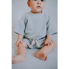 Little Yogi Top retro - Baby blue