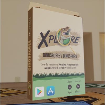 Pixsenses Jeu de cartes éducatif - Dinosaures