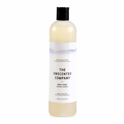 The Unscented Company Savon liquide pour le corps sans fragrance