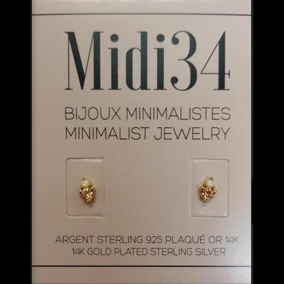 Midi34 Boucle d'oreilles - Ophélie