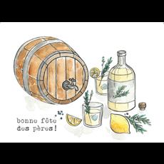 Stéphanie Renière Carte - Tonneau d'alcool