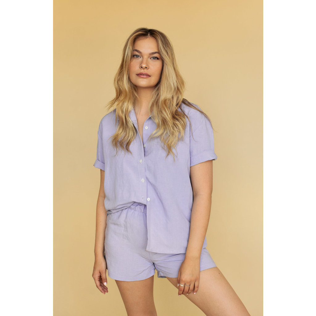 Dailystory clothing Short Gisèle - Lilas