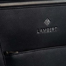 Lambert MIA - Sac à dos en cuir vegan avec tapis à langer