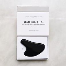 Mount Lai Gua Sha - Obsidienne noire
