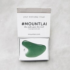 Mount Lai Gua Sha - Jade vert