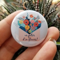 Tattoo it Macaron - Va péter d'in fleurs