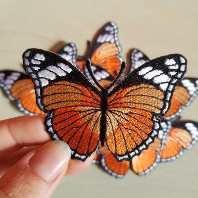 Tattoo it Écusson - Papillon Monarque