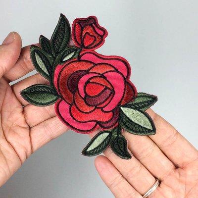 Tattoo it Écusson autocollant - Rose