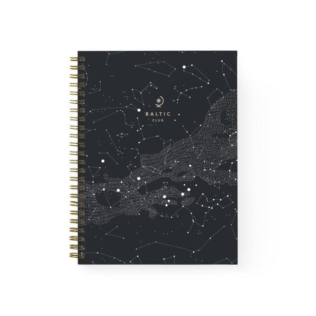 Baltic Club Carnet à Spirales - Constellations
