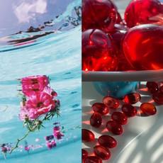 Rose Bubulle Bulles de bain - Rouge