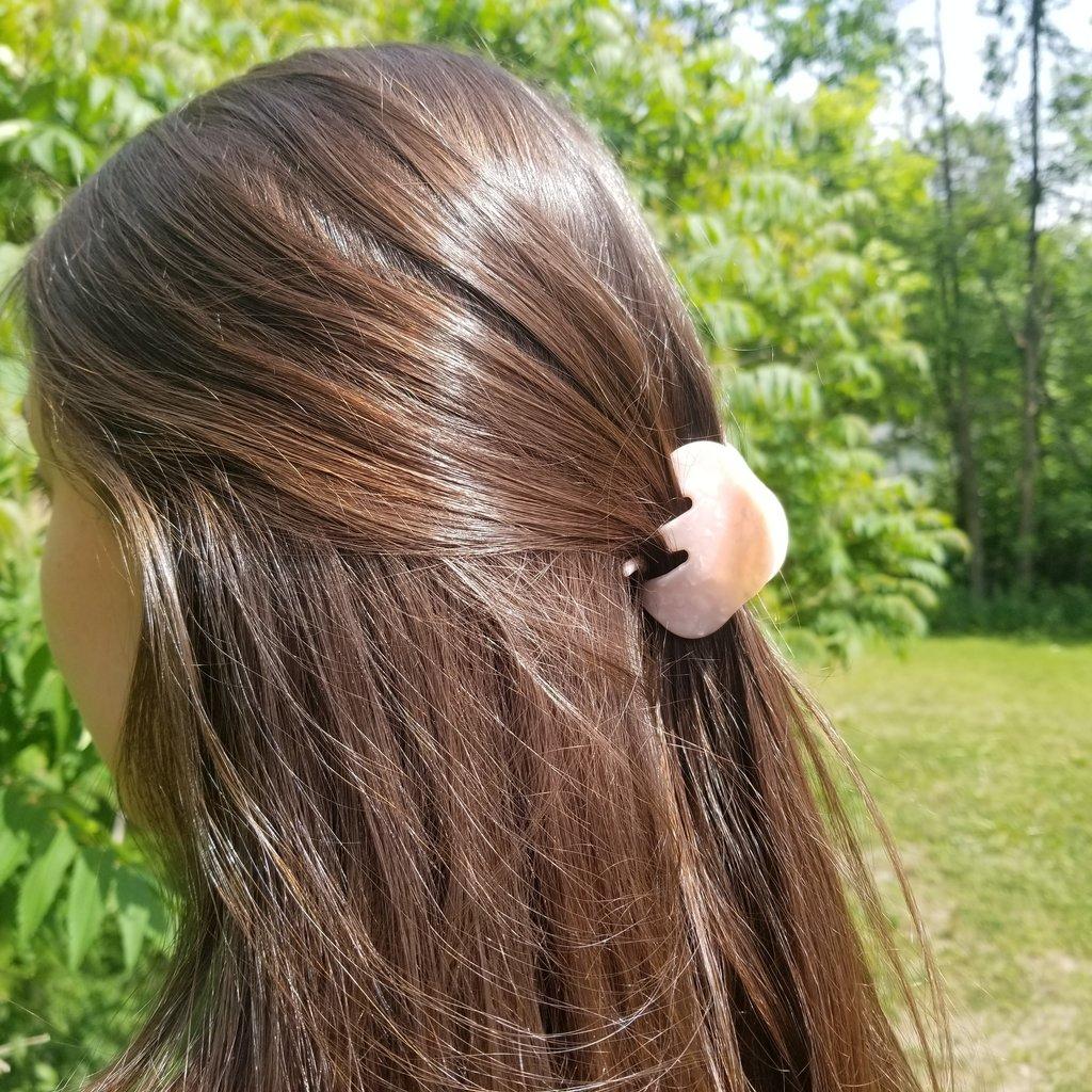 Inédit du Nord Petite pince à cheveux en acrylique