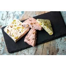 FAYS Terroir Chocolaté Nougat tendre artisanal - Vanille, amandes et pistaches