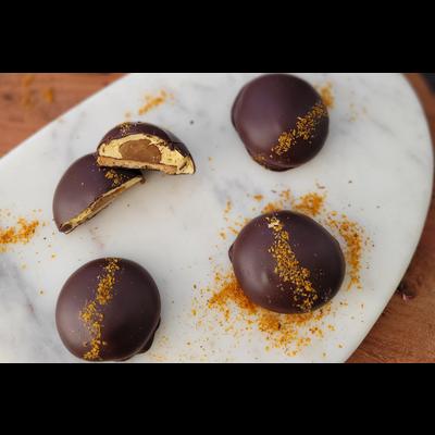 FAYS Terroir Chocolaté Les p'tits gonflés - Whisky et guimauve à l'argousier