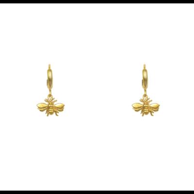 Lost & Faune Boucles d'oreilles - Lucioles or