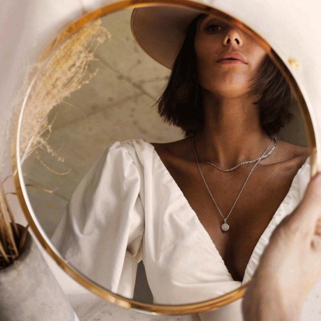Twenty Compass Collier Gigi - Acier inoxydable