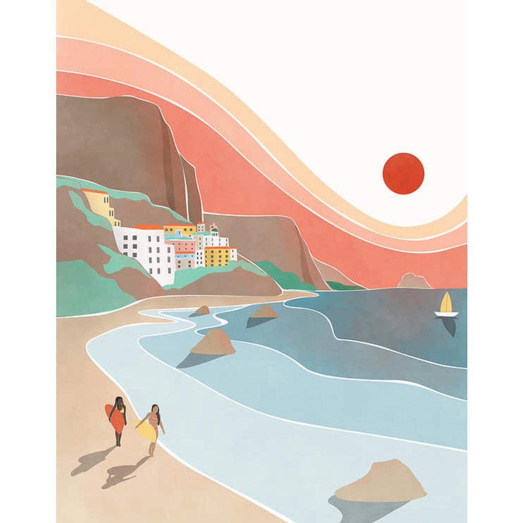 Les Barbos Affiche 8x10 - Amalfi