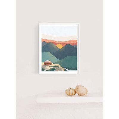 Les Barbos Affiche 8x10 - Golden Hour 2.0