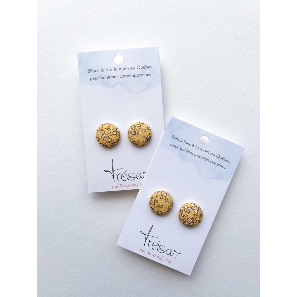 Trésar Petits boutons d'oreilles - Claire