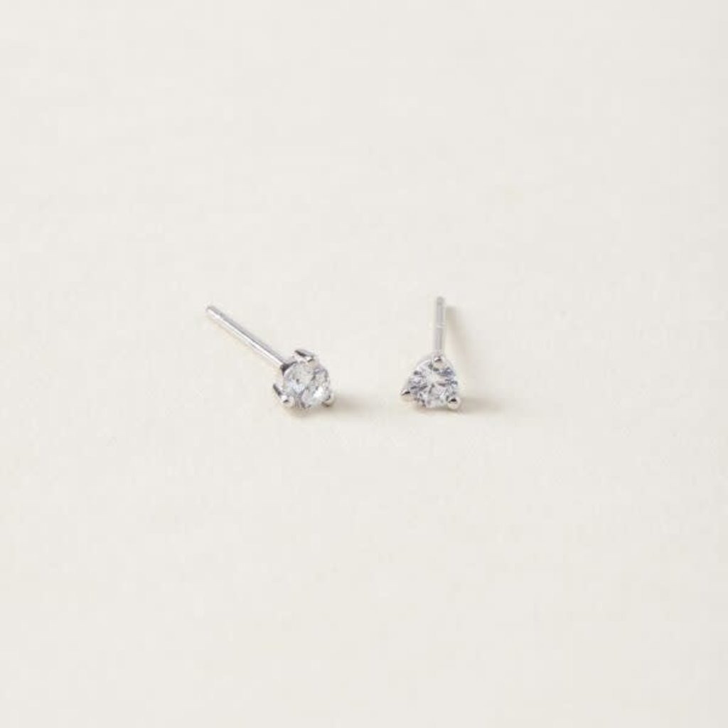 Midi34 Boucle d'oreilles Abby - Or blanc