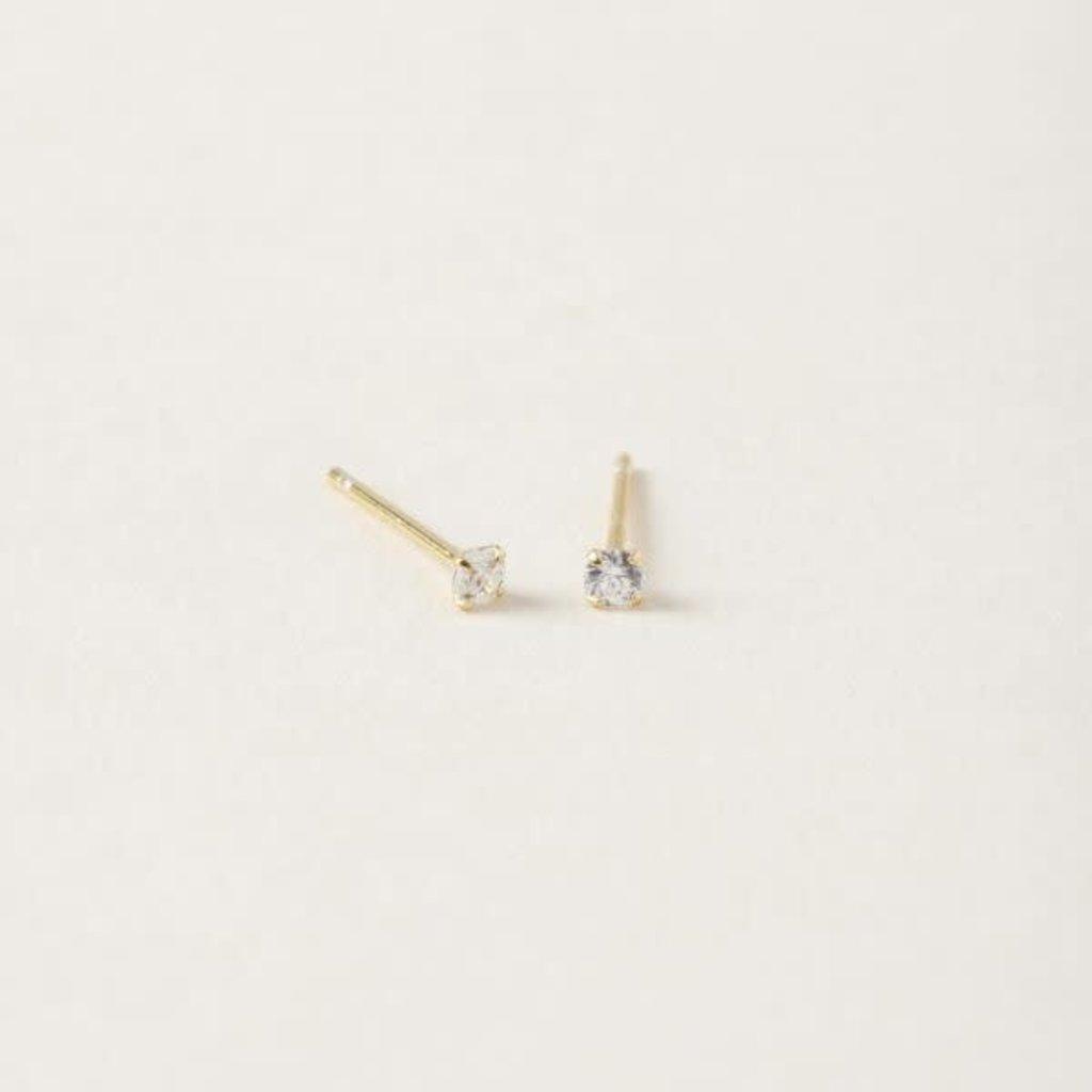 Midi34 Boucles d'oreilles - Les Valérie 2.5mm