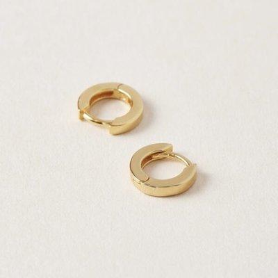 Midi34 Boucles d'oreilles anneaux or - Jessica