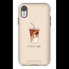 KaseMe Étui - But first, coffee