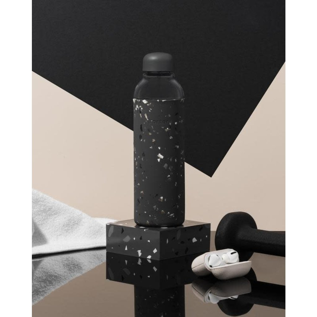 W&P porter Bouteille en verre - Terrazzo Charcoal