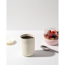 W&P porter Tasse en céramique 12 oz - Crème