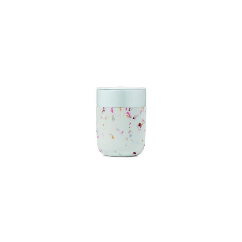 W&P porter Tasse en céramique 12 oz - Terrazzo Menthe