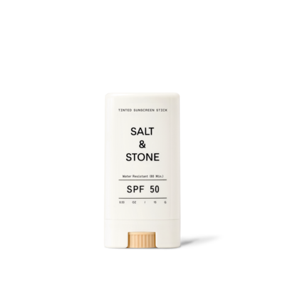 Salt & Stone Écran solaire teinté en bâton pour le visage - FPS 50