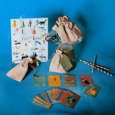Lili Graffiti Kit cartes ABC