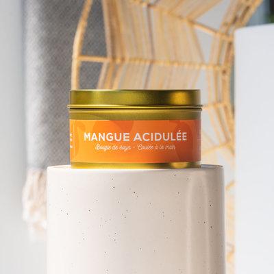 Dans la Prairie Chandelle de soya – Mangue acidulée (8oz)