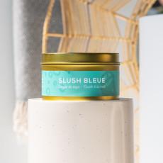Dans la Prairie Chandelle de soya – Slush bleue (8oz)