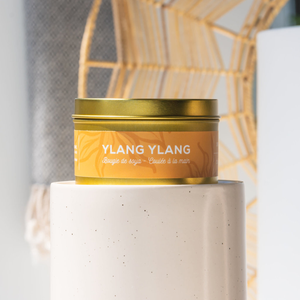 Dans la Prairie Chandelle de soya – Ylang ylang (8oz)