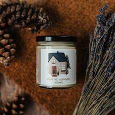 Dans la Prairie Chandelle de soya – Home sweet home