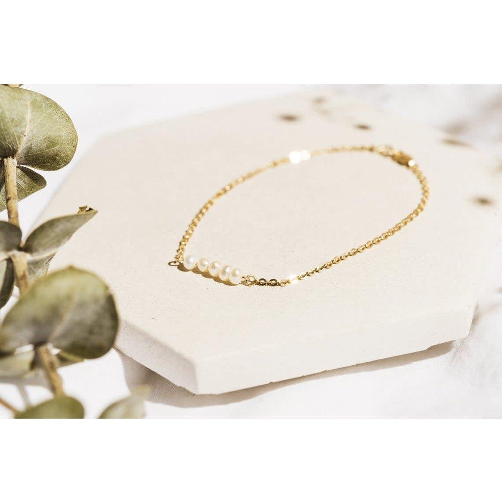 PlumBijoux Bracelet plaqué or 14K - Gaya