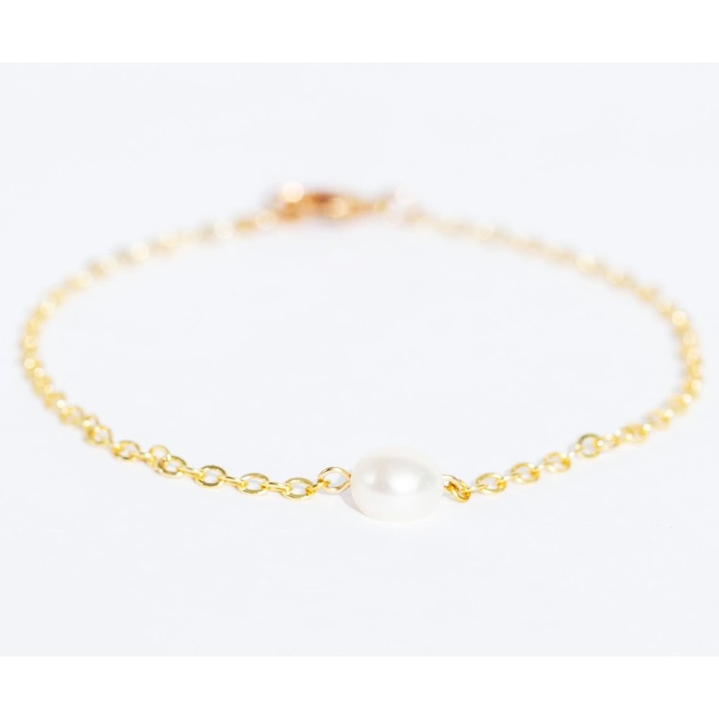 PlumBijoux Bracelet plaqué or 14K - Solal