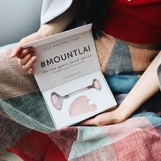 Mount Lai Duo outils pour le visage - Quartz Rose
