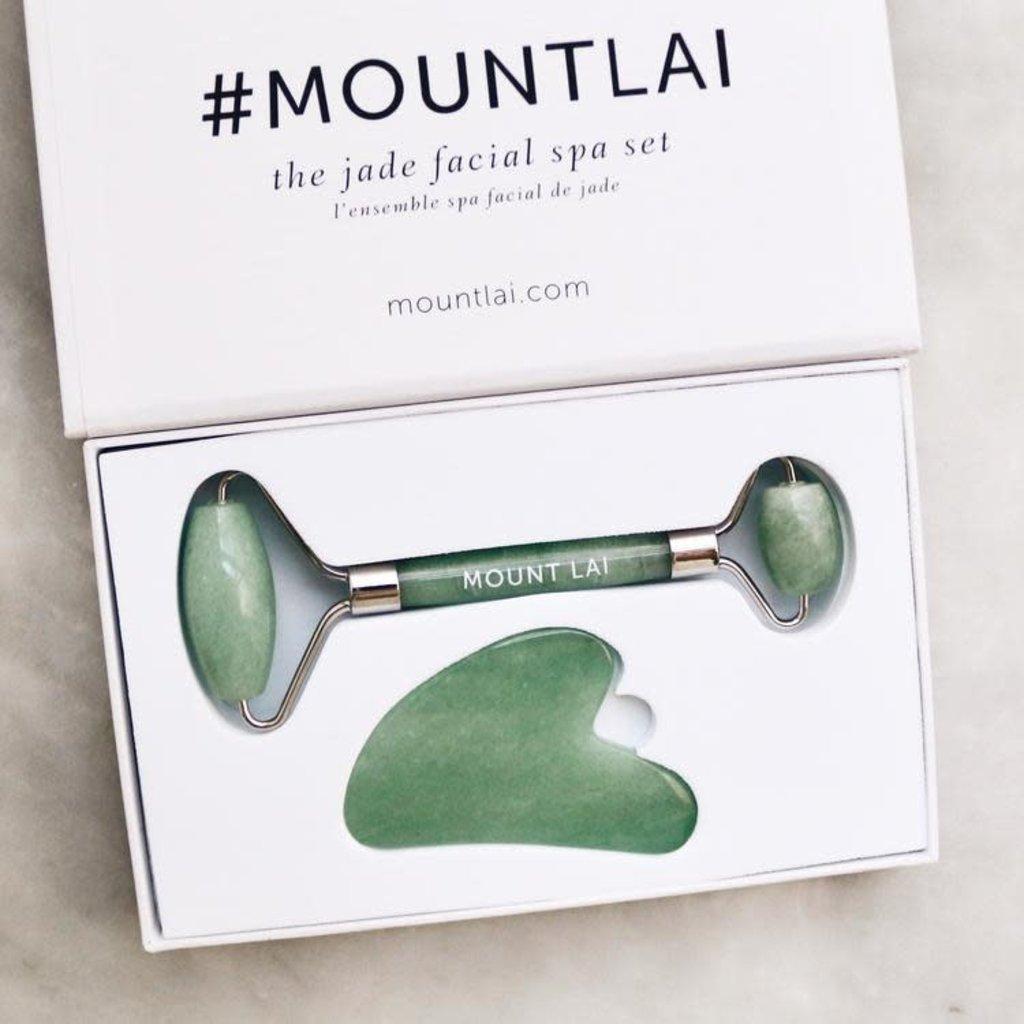 Mount Lai Duo outils pour le visage -Jade