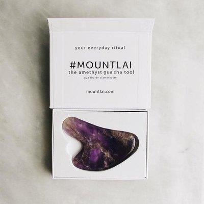 Mount Lai Gua Sha - Améthyste