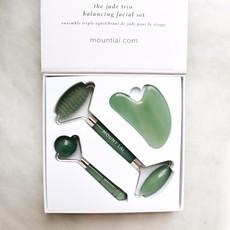 Mount Lai Trio outils pour le visage - Jade
