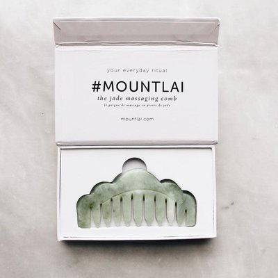 Mount Lai Peigne masseur - Jade