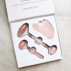 Mount Lai Trio outils pour le visage - Quartz Rose