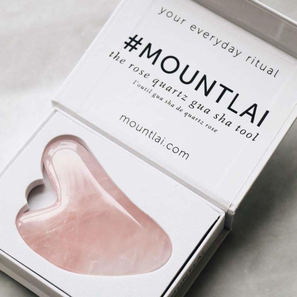 Mount Lai Gua Sha - Quartz rose