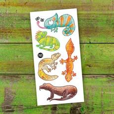 Picotatoo Tatouage - Les lézards souriants
